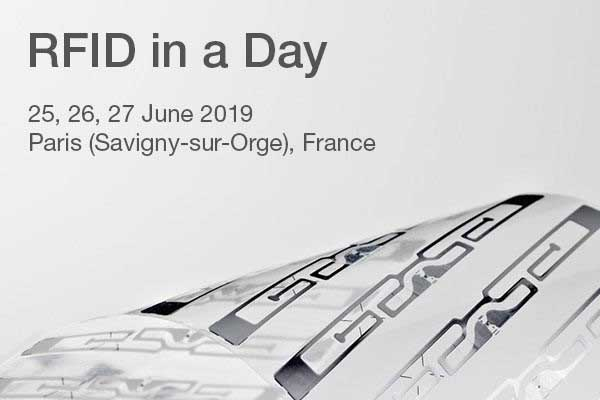 Nordic ID and The Right Amount Tour live at the RFID in a Day event in Paris